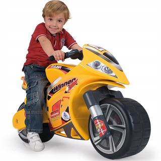 Correpasillos Montable Infantil Winner Amarilla Injusa Moto
