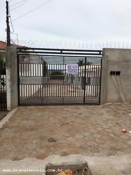 Casa Para Locação Em Presidente Prudente, Grupo Educacional Esquema, 2 Dormitórios, 1 Banheiro, 1 Vaga - 00531.004_1-1309663
