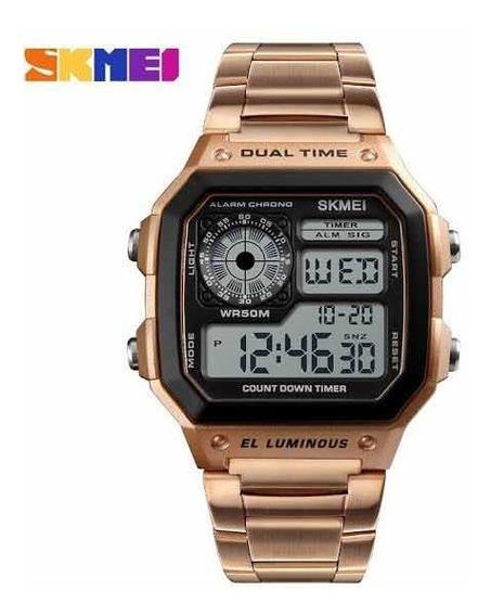 Relógio Skmei Rose Gold