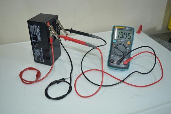 Bateria 12v 3.4 Ah Recarregável. Chumbo-acido Valvulada