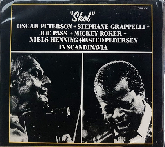Cd Oscar Peterson - Grapelli - Joe Pass - Skol Novo Digipak