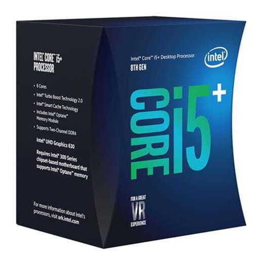 Processador Intel 8400 Core I5+ C/ Intel Optane (1151) 2.80