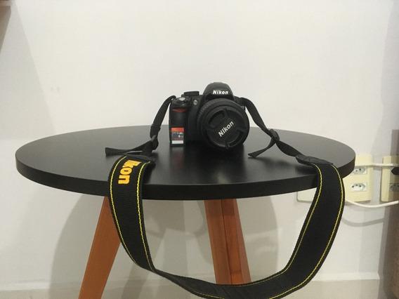 Câmera D3100 Com Lente Vr 18-55mm