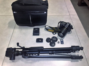 Nikon D7100 + Bolsa Nikon + Controle Remoto + Tripé + Sd32gb