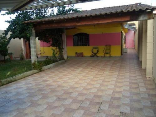Casa A 1,3km Do Mar Em Itanhaém-sp