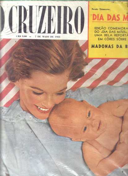 O Cruzeiro 1955.baile Branco.theda Bara.madonas Da Bahia.mod
