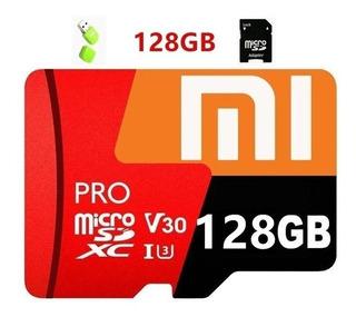 Cartão De Memória 128gb + Adaptador Usb + Micro Sd