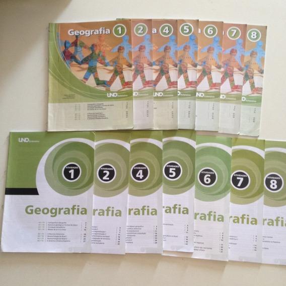Livros Uno Extensivo Geografia + Atividades Ensino Médio C2