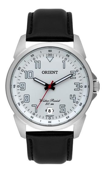Relógio Orient Masculino Mbsc1031 S2px Preto Couro Oferta