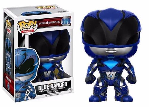 Funko Pop! Movies. Power Rangers- Blue Ranger 399