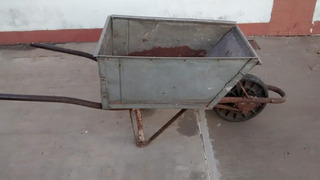 Carretilla De Construcción Muy Reforzada - Agronomía Caba