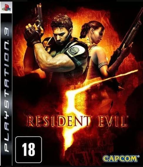 Resident Evil 5 Re5 Ps3 Play 3 Jogo Buy