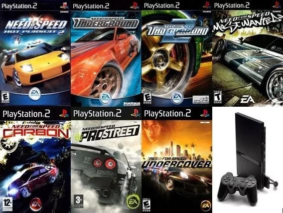 Coleção Need For Speed 7 Jogos Patch P/ Ps2 Desbloqueado
