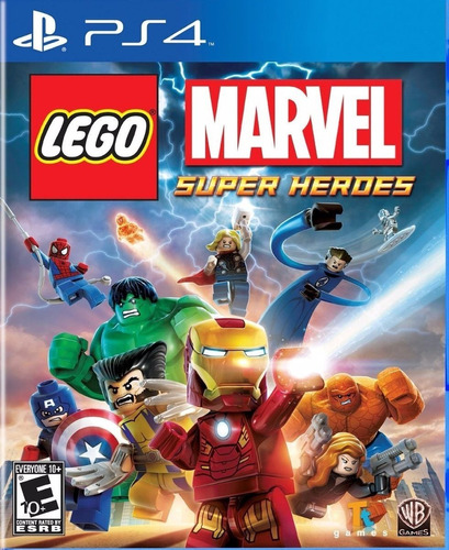 Imagen 1 de 3 de Lego Marvel Super Heroes Superheroes Ps4 Original + Garantía