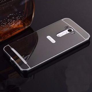 2 Capas Bumper Espelhada Celular Asus Zenfone Selfie Zd551kl