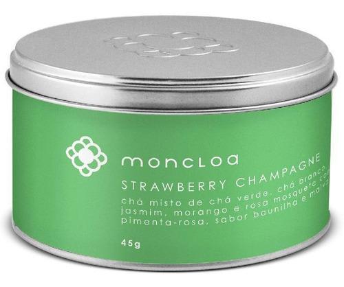 Chá Moncloa Strawberry Champagne Lata 45g