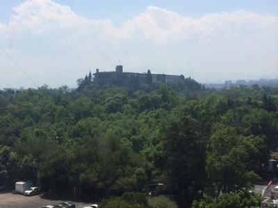 Anzures, 57m2, Vigilancia, Vista Al Castillo De Chapultepec