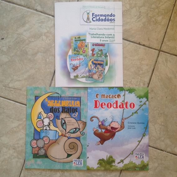 3 Livros Formando Cidadãos Kit C 5 Anos Educação Infantil C2
