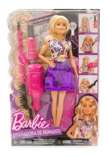 Barbie Muñeca Diseñadora De Peinados Articulada Orig Mattel
