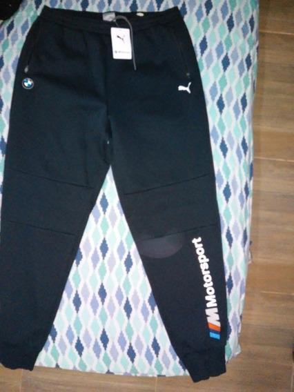 Pantalon Puma Bmw Sweat Pants Azul Xl