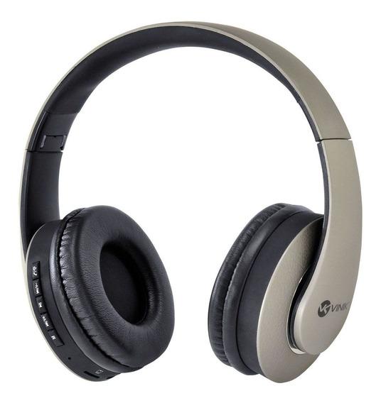 Fone Headset Bluetooth Easy Wh C/ Leitor De Cartão Micro Sd