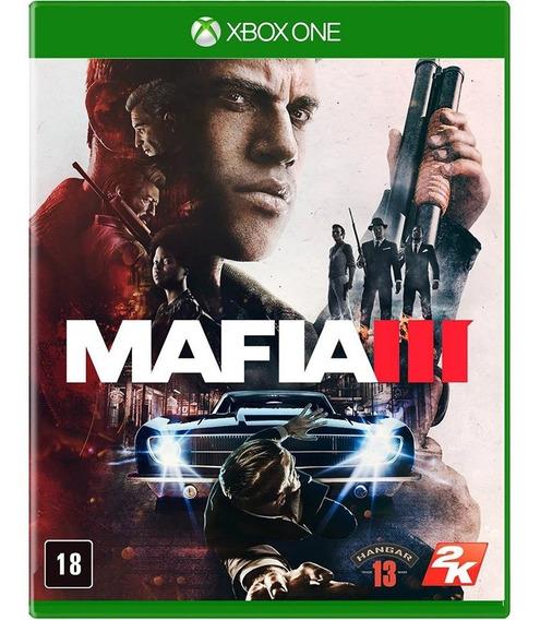 Mafia 3 Iii Xbox One - Midia Fisica - Lacrado - Portugues