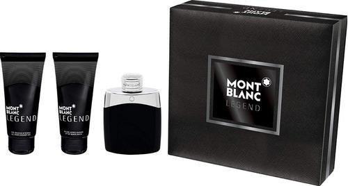 Estuche Mont Blanc Legend Hombre 100 Ml - mL a $933