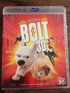 Película Blu Ray Bolt Disney 3d Original