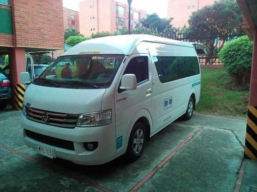 Vendo O Permuto Vans Foton Suporter Diesel