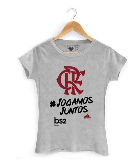 Camiseta Camisa Flamengo Jogamos Juntos Campeão Brasileirão