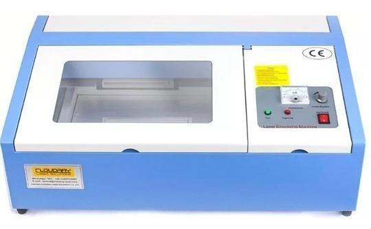 Máquina De Grabado Y Corte Láser Co2 40w 30x20 Cm Usb
