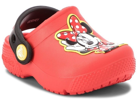 Crocs Originales Fun Lab Minnie Clog K Flame