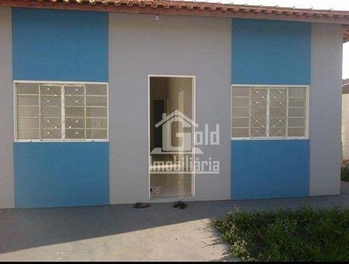 Imagem 1 de 5 de Casa Com 3 Dormitórios À Venda Por R$ 180.000,00 - Bom Jardim - Brodowski/sp - Ca2168