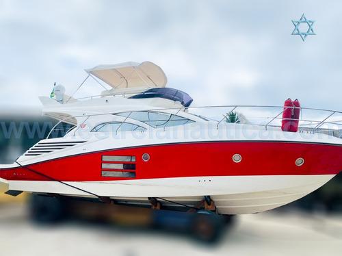 Imagem 1 de 14 de Lancha Armada 440 Full Iate Ferretti Azimut Axtor Cranchi