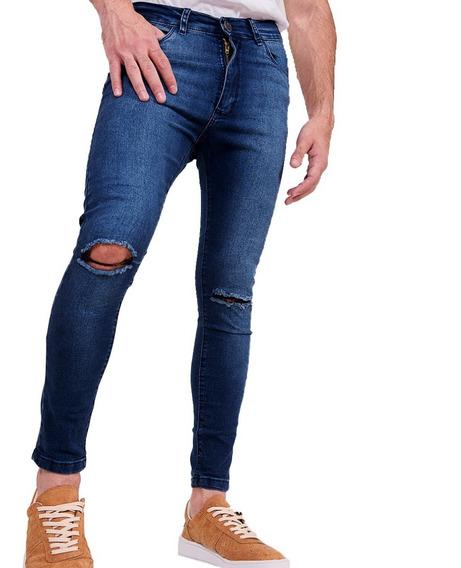 Combo X2 - Jeans Hombre Pantalón Elastizado Varios Modelos