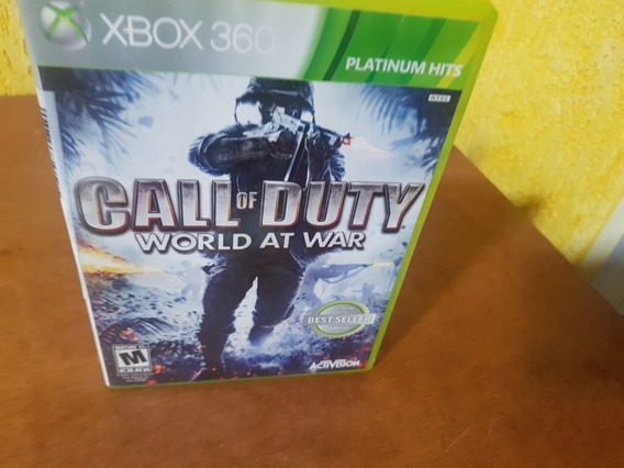 Call Of Duty World At War Usado Original Xbox 360 .
