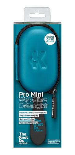 Cepillo Knot Dr Pro Mini Con Estuche Conair 2 Pzas 95334mx