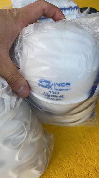 Cubrebocas N95 110 Paquete 5 Piezas