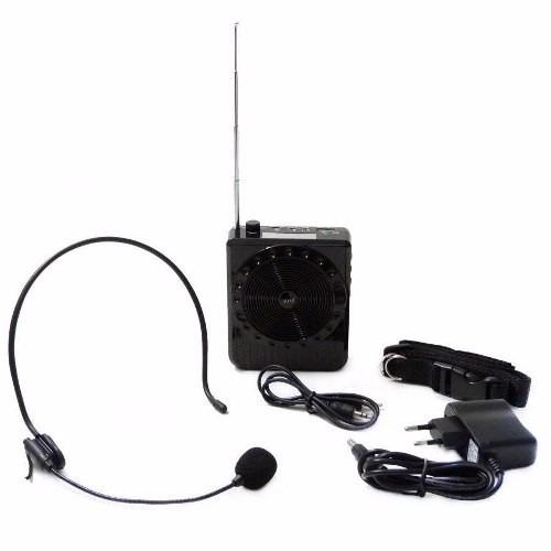 Microfone Para Aulas De Academia, Palestras, Vendedores Rua