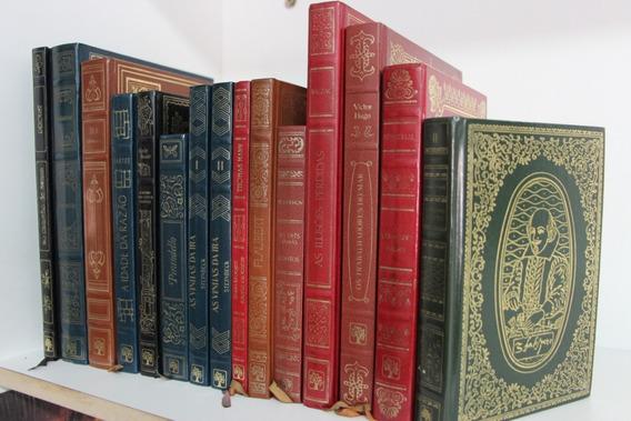 Coleção Com 14 Livros Obras Primas Abril 1979 Capa Dura