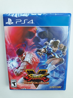 Street Fighter V 5 Champion Edition Ps4 Nuevo Y Sellado