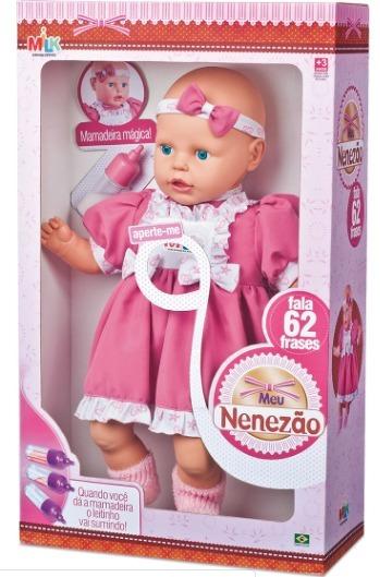 Boneca Grande Meu Nenezão - Milk Brinquedos
