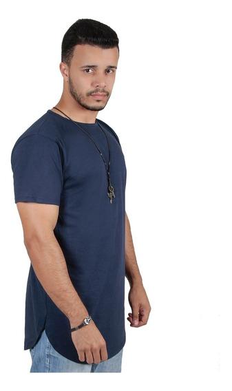 Kit Promocional 6 Camisas Oversized Longline Masculina
