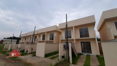 Casa Duplex Com 2 Quartos Em Campo Grande Rj - Ca0353