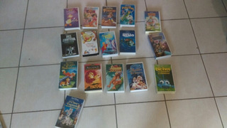 Set 16 Vhs Disney Originales