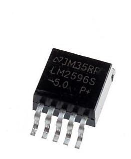 3 X Ci Lm2596s 5.0 Regulador De Tensao 5v Step Down 3a