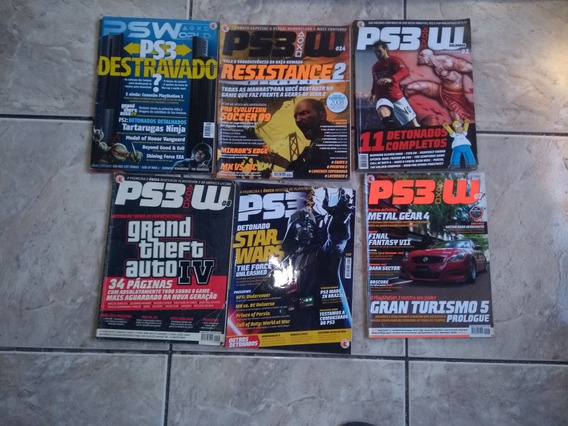 Pacote De Revistas De Games