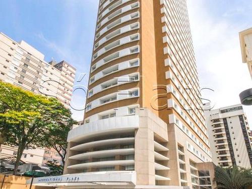 Flat Na Al. Santos, Prox A Paulista, A Fundação Casper Libero, Metro Trianon E Museus Do Masp - Sf29247