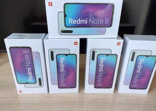 Redmi Note 8 4/64 Preto