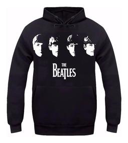 Moletom The Beatles Rock Banda Unissex Blusa Moleton Frio
